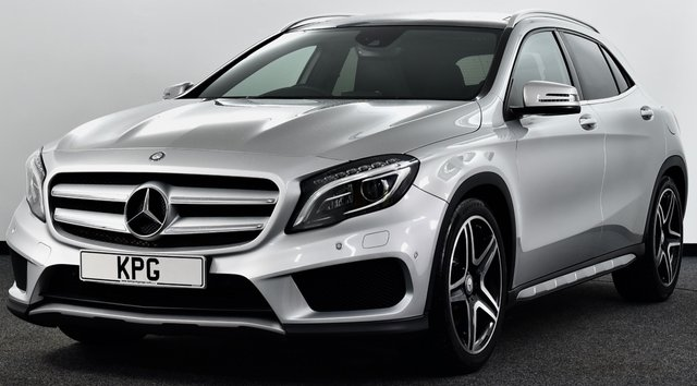 USED 2014 64 MERCEDES-BENZ GLA-CLASS 2.1 GLA220 CDI AMG Line (Premium Plus) 7G-DCT 4MATIC 5dr £34k New, Pan Roof, F/MB/S/H