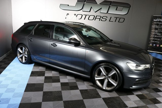 USED 2012 AUDI A6 LATE 2012 AUDI A6 2.0 TDI S LINE BLACK EDITION STYLE AUTO AVANT 175 BHP (FINANCE AND WARRANTY)