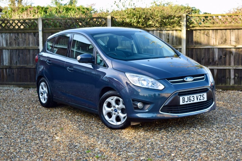 USED 2013 63 FORD C-MAX 1.6 ZETEC TDCI 5d 114 BHP Free 12  month warranty