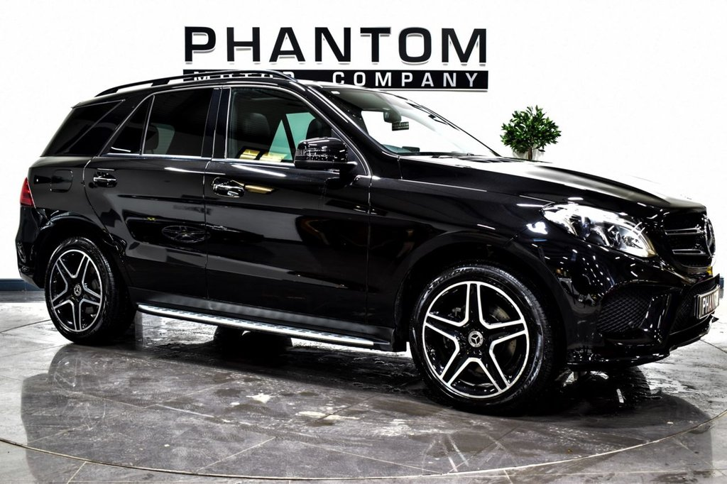 USED 2018 68 MERCEDES-BENZ GLE-CLASS 2.1 GLE 250 D 4MATIC AMG NIGHT EDITION PREMIUM PLUS 5d 201 BHP