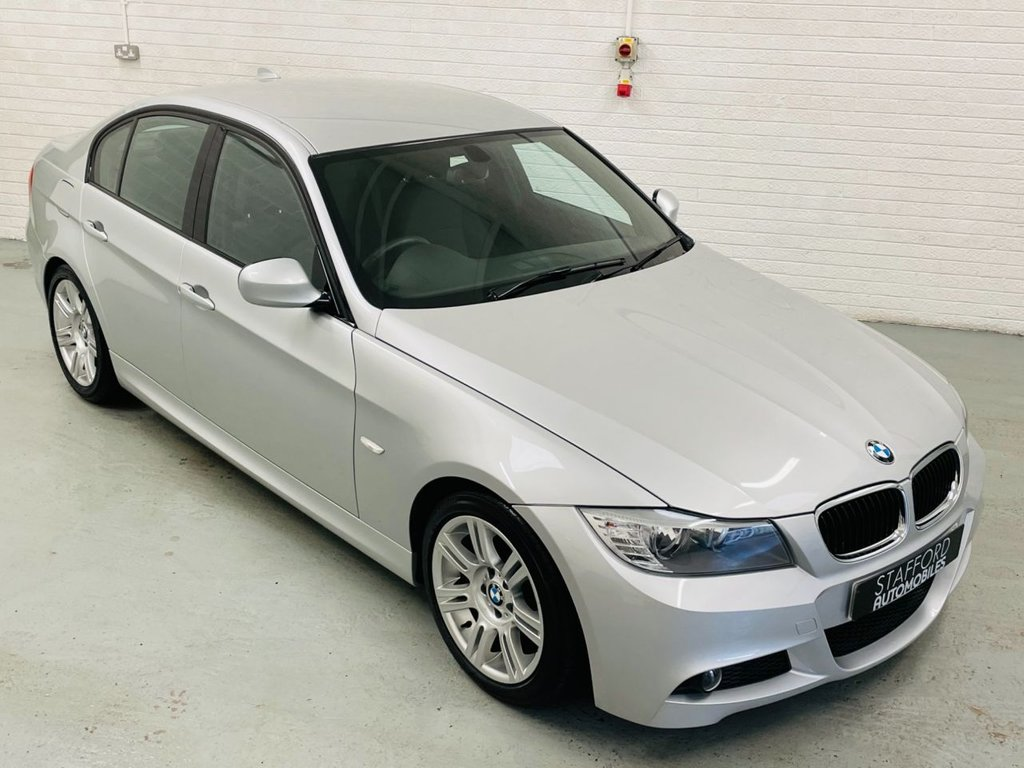 USED 2010 10 BMW 3 SERIES 2.0 318D M SPORT 4d 141 BHP £30 TAX, LOW MILES, GREAT HISTORY, FINANCE AVAILABLE