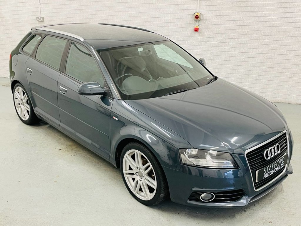 USED 2012 61 AUDI A3 2.0 SPORTBACK TDI S LINE 5d 138 BHP 18IN ALLOYS, STUNNING CAR, FINANCE AVAILABLE