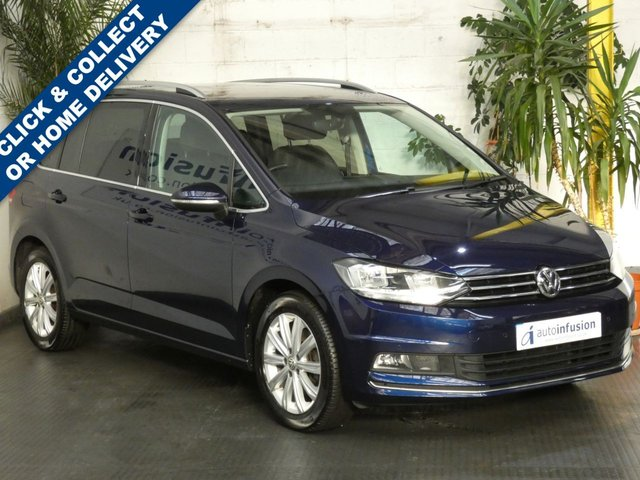 2017 67 VOLKSWAGEN TOURAN 1.4 SEL TSI BLUEMOTION TECHNOLOGY DSG 5d 148 BHP