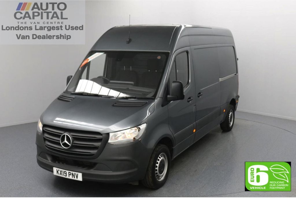 USED 2019 19 MERCEDES-BENZ SPRINTER 2.1 314 CDI 141 BHP L2 H2 MWB Euro 6 Low Emission Finance Available Online | Keyless Go | Auto Start-Stop