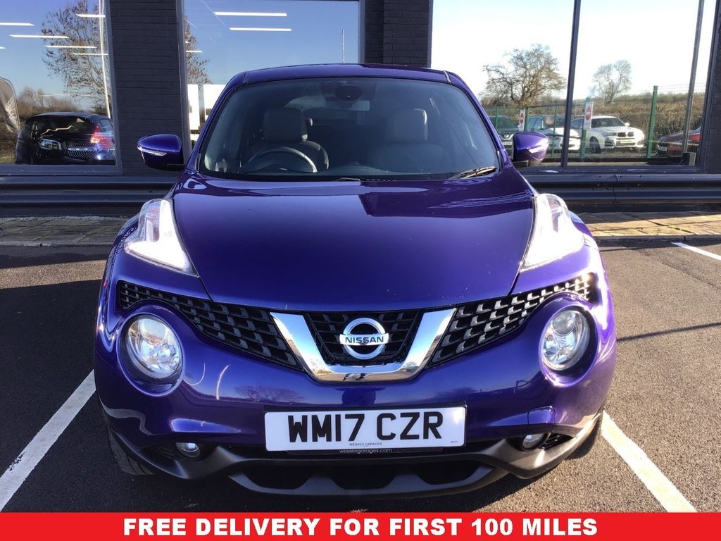 USED 2017 17 NISSAN JUKE 1.2 N-CONNECTA DIG-T 5d 115 BHP *FULL VALET, MOT, SERVICE AND WARRANTY INC - 7 DAYS MONEY BACK GUARANTEE - FREE DELIVERY - FINANCE RATES FROM 5.9%*