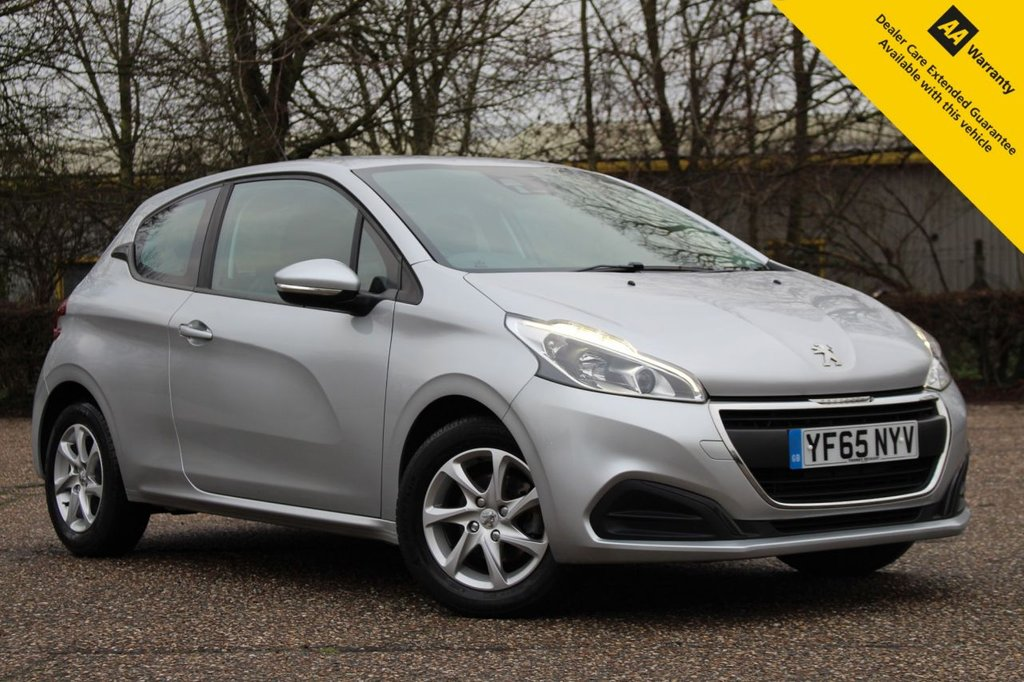 USED 2016 65 PEUGEOT 208 1.2 ACTIVE 3d 82 BHP ** FULL PEUGEOT MAIN DEALER SERVICE HISTORY ** LONG ADVISORY FREE MOT ** UPGRADED REAR CAMERA + PARKING SENSORS ** UPGRADED VISIBILITY PACK ** CRUISE CONTROL ** BLUETOOTH ** DAB RADIO ** £20 ROAD TAX ** ULEZ CHARGE EXEMPT ** CLICK & COLLECT + NATIONWIDE DELIVERY AVAILABLE ** BUY ONLINE IN CONFIDENCE FROM A MULTI AWARD WINNING 5* RATED DEALER **