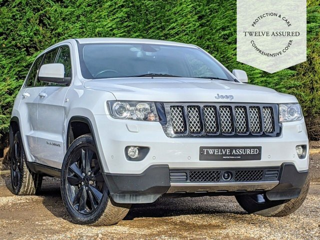 USED 2013 13 JEEP GRAND CHEROKEE 3.0 V6 CRD S-LIMITED 5d 237 BHP