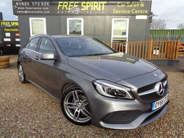 USED 2016 66 MERCEDES-BENZ A-CLASS 1.6 A180 AMG Line (Premium) 7G-DCT (s/s) 5dr Full MB History, Nav, 1 Owner