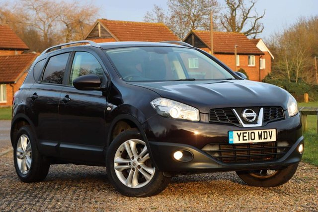 USED 2010 10 NISSAN QASHQAI 1.5 dCi n-tec 2WD 5dr FULL SERVICE HISTORY