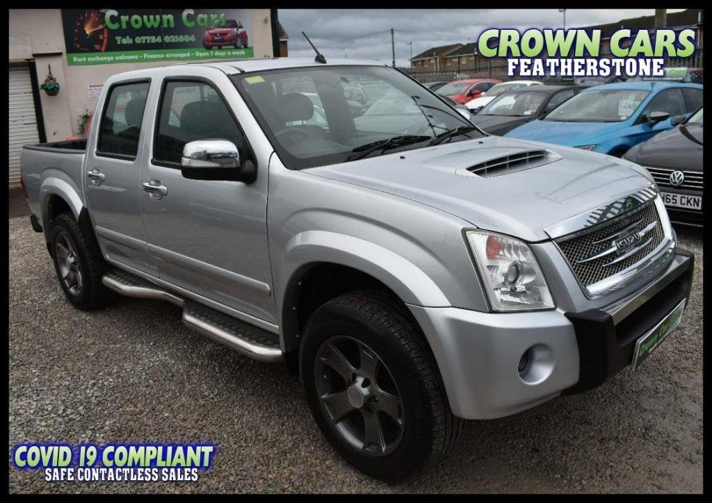 USED 2011 11 ISUZU RODEO 3.0 CRD Denver Max LE Crewcab Pickup 4dr STUNNING EXAMPLE WITH HISTORY