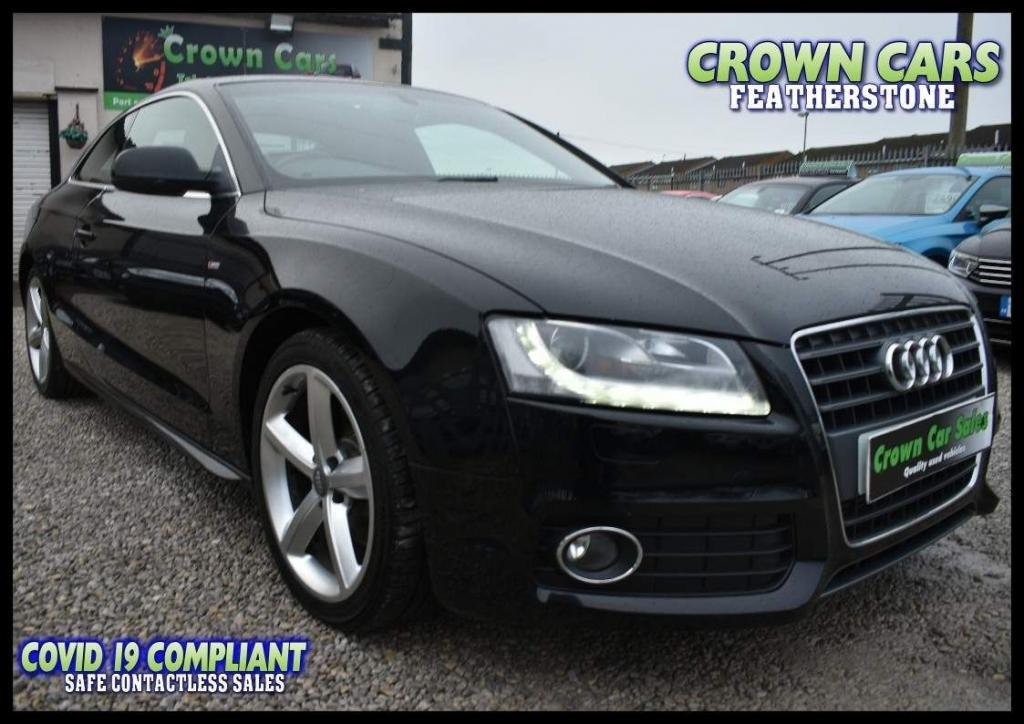 USED 2010 10 AUDI A5 2.0 TFSI S line 2dr STUNNING ORIGINAL EXAMPLE