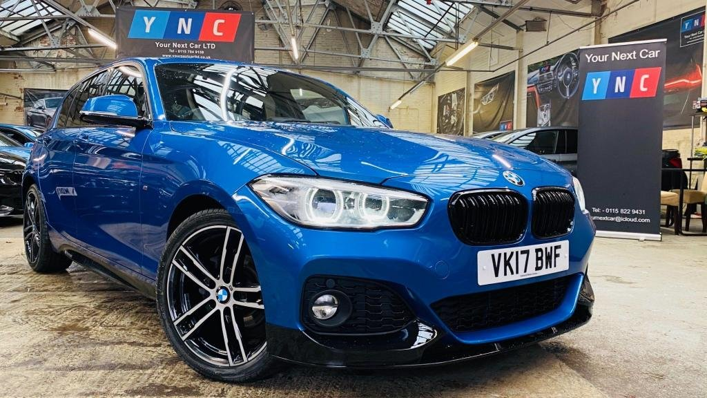 USED 2017 17 BMW 1 SERIES 1.5 116d M Sport (s/s) 5dr PERFORMANCEKIT+FACELIFT+18S