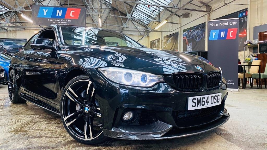USED 2015 64 BMW 4 SERIES 3.0 435d M Sport Auto xDrive 2dr PERFORMANCEKIT+20S+XDRIVE