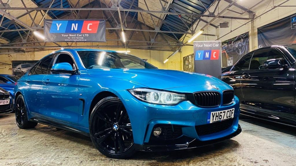 USED 2017 67 BMW 4 SERIES 2.0 420d M Sport Gran Coupe Auto (s/s) 5dr PERFORMANCEKIT+20S+FACELIFT