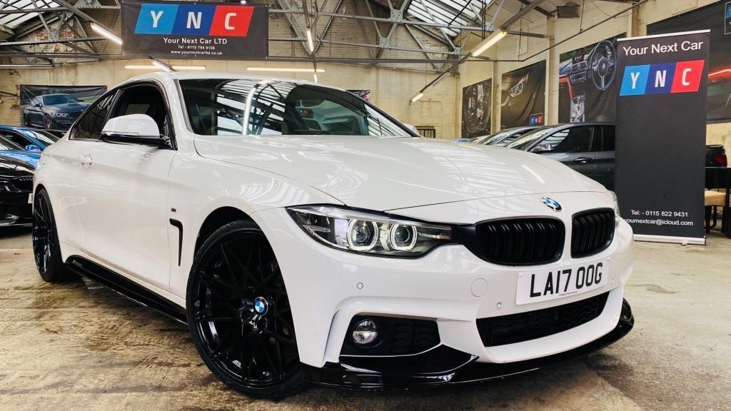 USED 2017 17 BMW 4 SERIES 2.0 420d M Sport Auto 2dr PERFORMANCEKIT+20S+FACELIFT