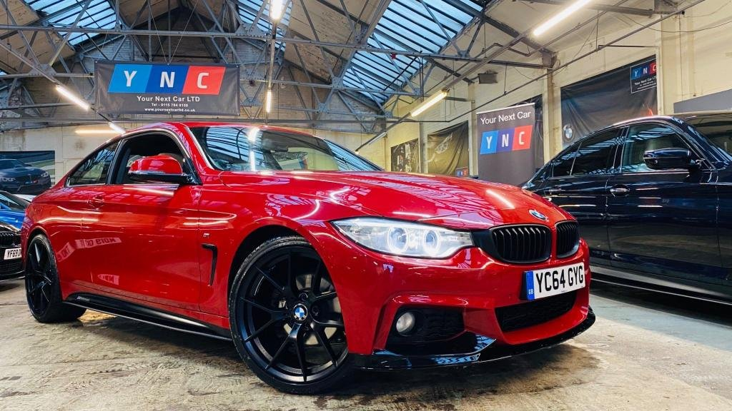 USED 2014 64 BMW 4 SERIES 2.0 420d M Sport Auto 2dr PERFORMANCEKIT+19S+XENONS