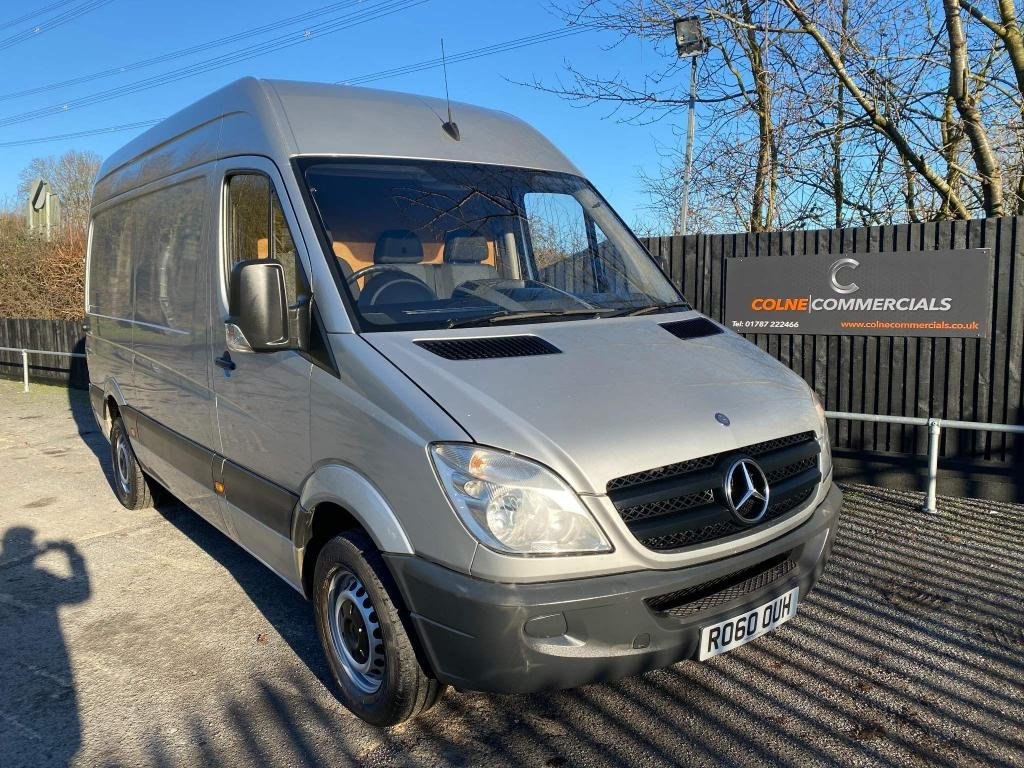 USED 2010 60 MERCEDES-BENZ SPRINTER 2.1 CDI 313 High Roof Panel Van 4dr MWB **AIR CONDITIONING**