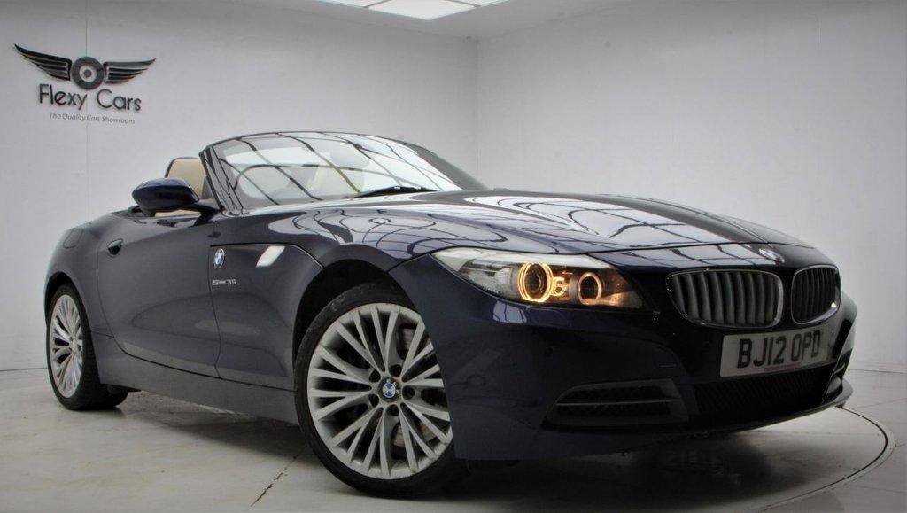 USED 2012 12 BMW Z4 3.0 Z4 SDRIVE35I ROADSTER 2d 302 BHP