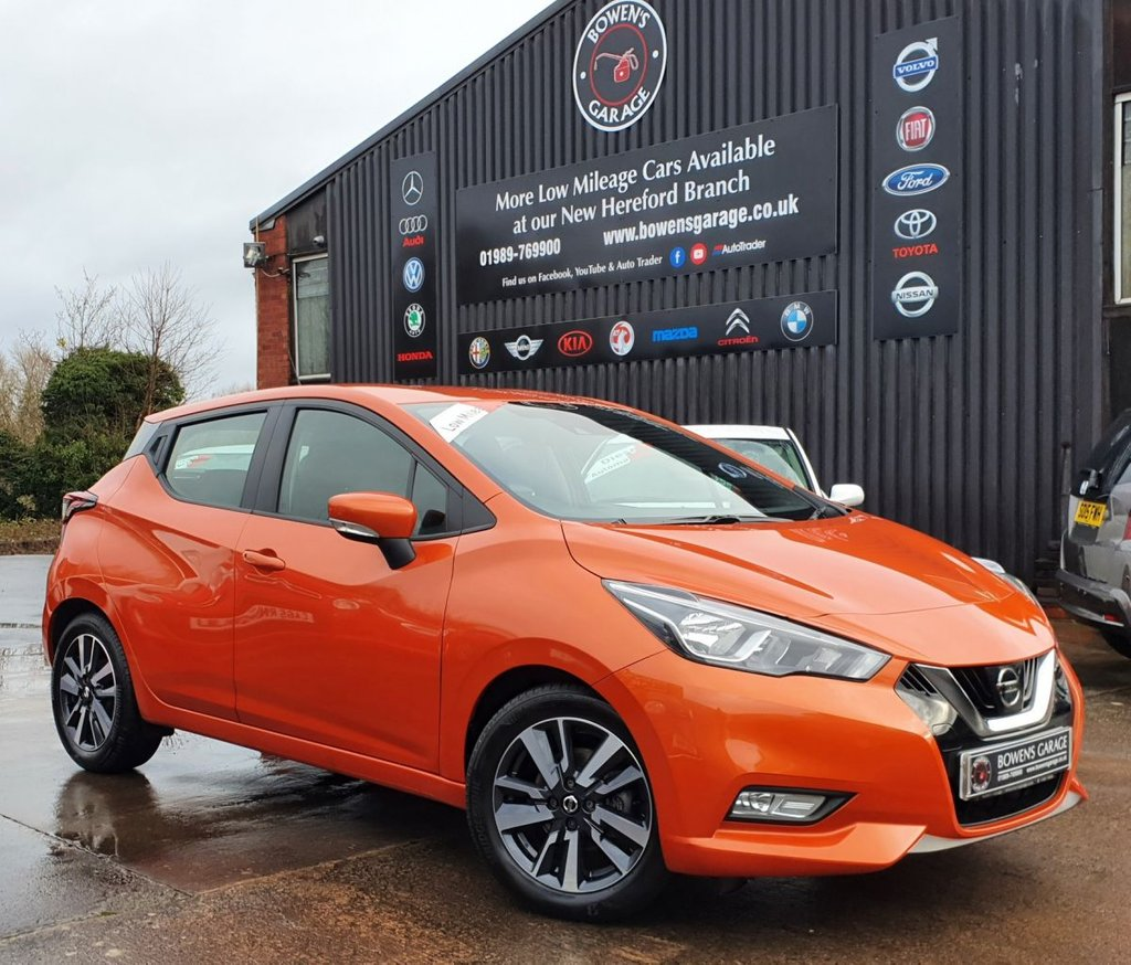 USED 2017 67 NISSAN MICRA 0.9 IG-T ACENTA 5D 89 BHP Very Low Miles - 3 Nissan Services - Lovely Spec