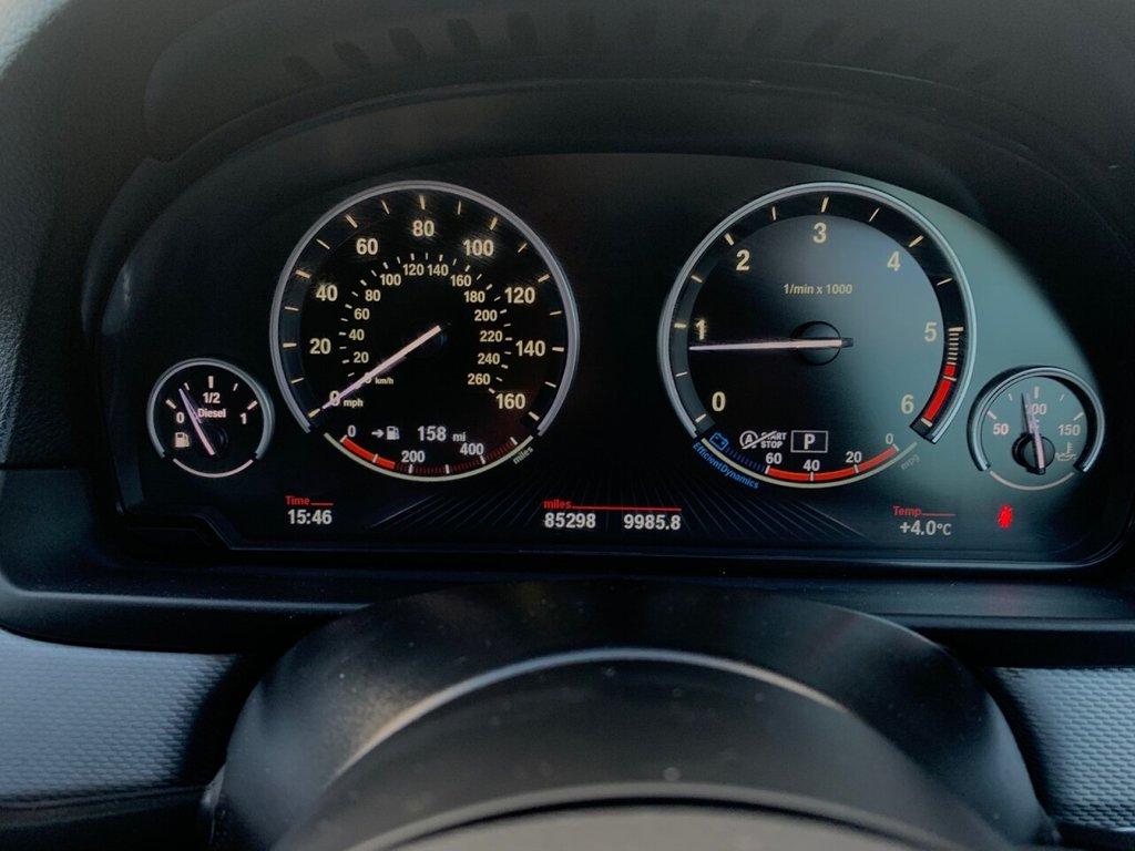 USED 2014 14 BMW 5 SERIES 2.0 520D M SPORT TOURING 5d 181 BHP