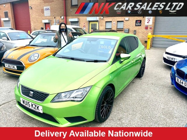 2015 15 SEAT LEON 1.2 TSI S 5d 110 BHP FSH SOLD TO JADE FROM WORCESTER