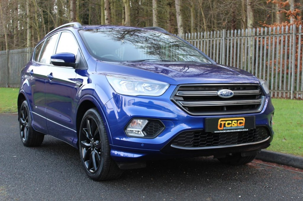 USED 2018 18 FORD KUGA 1.5 ST-LINE X TDCI 5d 118 BHP A STUNNING LOW MILEAGE, LOW OWNER KUGA WITH FORD SERVICE HISTORY!!!