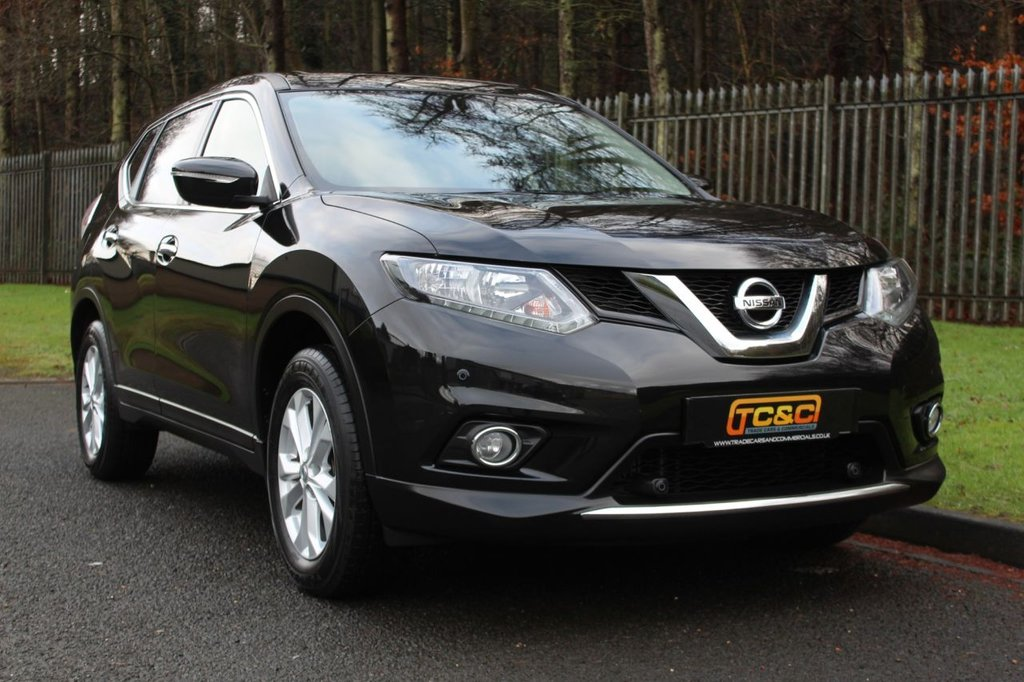 USED 2017 67 NISSAN X-TRAIL 1.6 DCI ACENTA XTRONIC 5d 130 BHP A LOW MILEAGE, ONE OWNER NISSAN XTRAIL WITH FULL NISSAN MAIN DEALER SERVICE HISTORY!!!