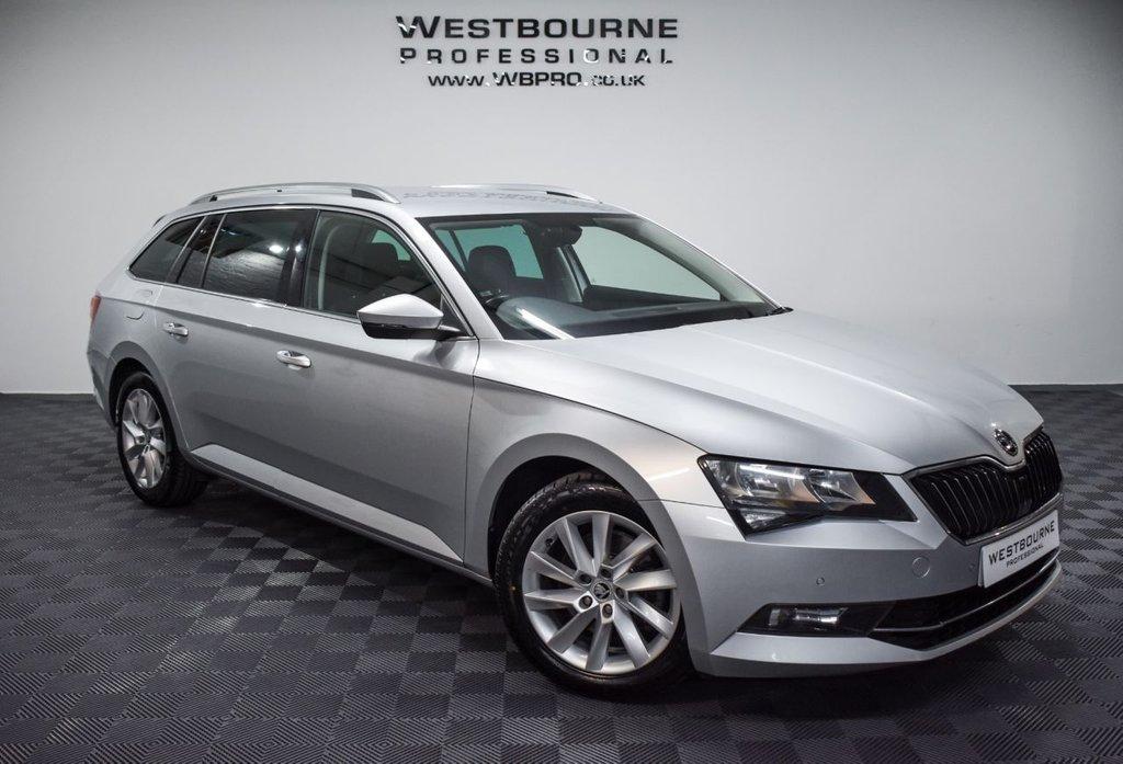 USED 2017 17 SKODA SUPERB 1.6 SE TECHNOLOGY TDI 5d 118 BHP Click&Collect / Home Delivery