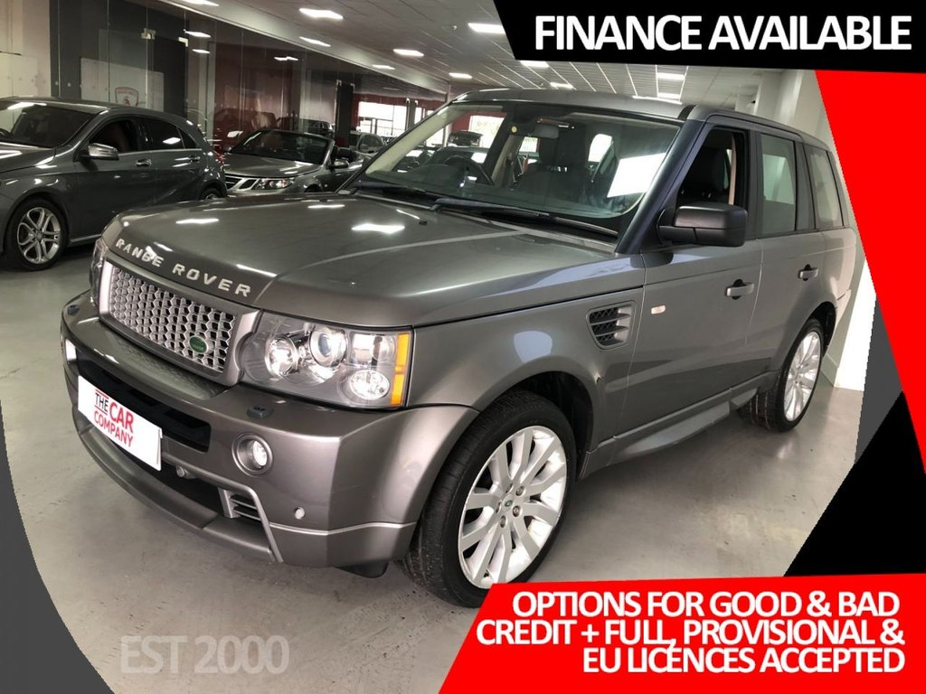 USED 2009 09 LAND ROVER RANGE ROVER SPORT 2.7 TDV6 STORMER EDITION 5d 188 BHP * STORMER EDITION * 10 SERVICE STAMPS *