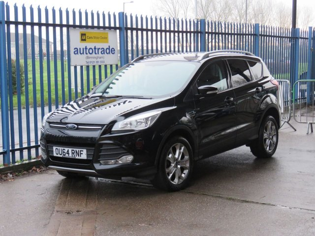 USED 2014 64 FORD KUGA 2.0 ZETEC TDCI 5d 138 BHP Ford Service History with 6 Stamps 1 Private Owner-DAB Radio-Rear Park Assist