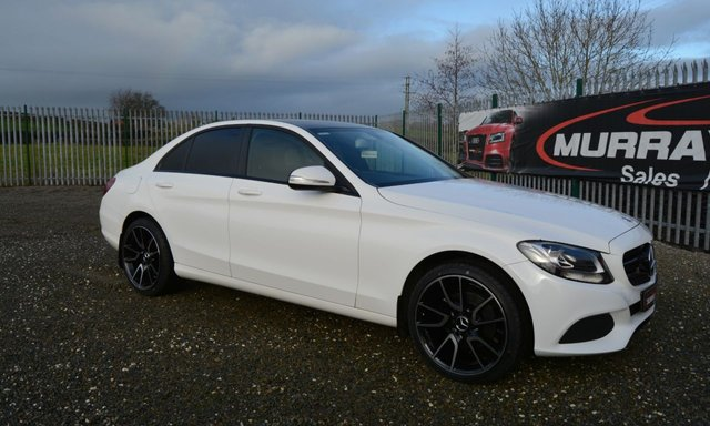 USED 2015 MERCEDES-BENZ C-CLASS 2.1 C220 BLUETEC SE 4DOOR 170 BHP *REAR CAMERA*