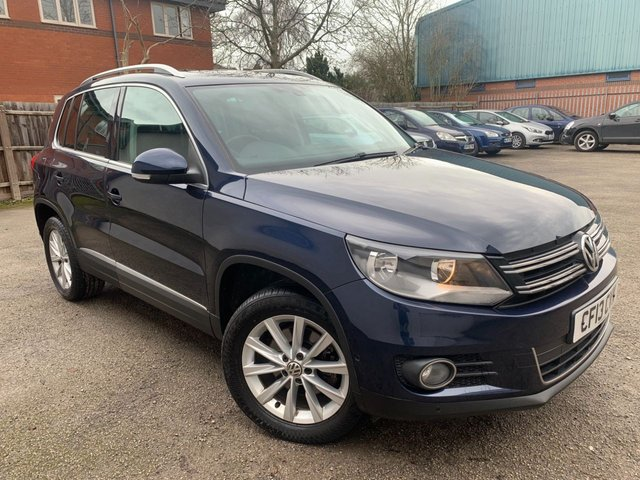USED 2013 13 VOLKSWAGEN TIGUAN 2.0 SE TDI BLUEMOTION TECHNOLOGY 4MOTION DSG 5d 138 BHP PARKING AID ALL ROUND, DAB RADIO, BLUETOOTH, ELECTRIC SUNROOF