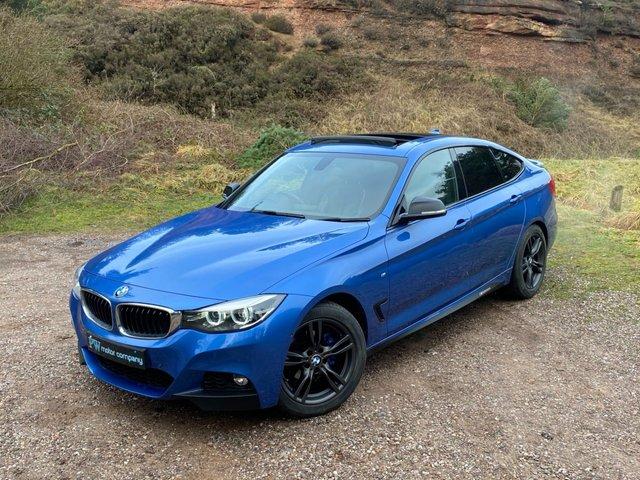 USED 2017 67 BMW 3 SERIES 2.0 320I M SPORT GRAN TURISMO 5d 181 BHP TOP SPEC PAN SUNROOF