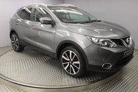 USED 2014 64 NISSAN QASHQAI 1.5 DCI TEKNA 5d 108 BHP SAT/NAV, DAB, BLUETOOTH, GLASS  ROOF, FULL LEATHER, HEATED SEATS, TINTED GLASS, 7 SERVICES