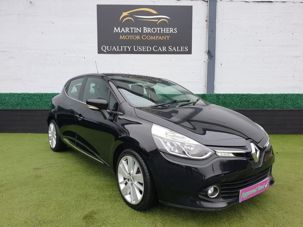 USED 2013 63 RENAULT CLIO 1.5 DYNAMIQUE S MEDIANAV ENERGY DCI S/S 5d 90 BHP HATCHBACK