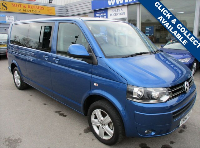 USED 2014 64 VOLKSWAGEN CARAVELLE 2.0 SE TDI BLUEMOTION TECHNOLOGY 5d AUTO 140 BHP LEWIS REED CONVERSION