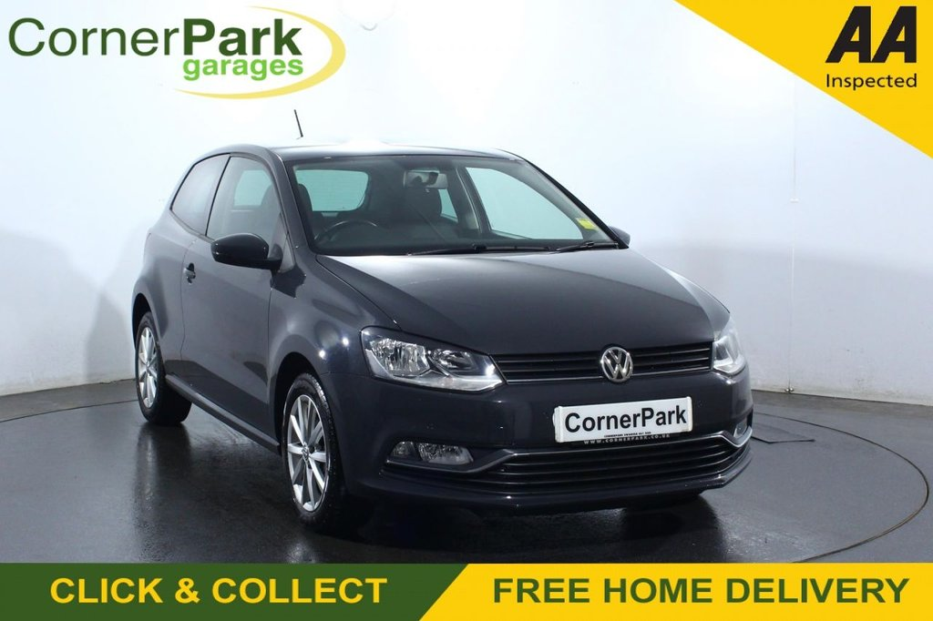 USED 2016 16 VOLKSWAGEN POLO 1.2 MATCH TSI 3d 89 BHP
