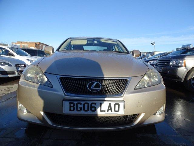 USED 2006 06 LEXUS IS 2.2 220D 4d 175 BHP LONG MOT DRIVES A1
