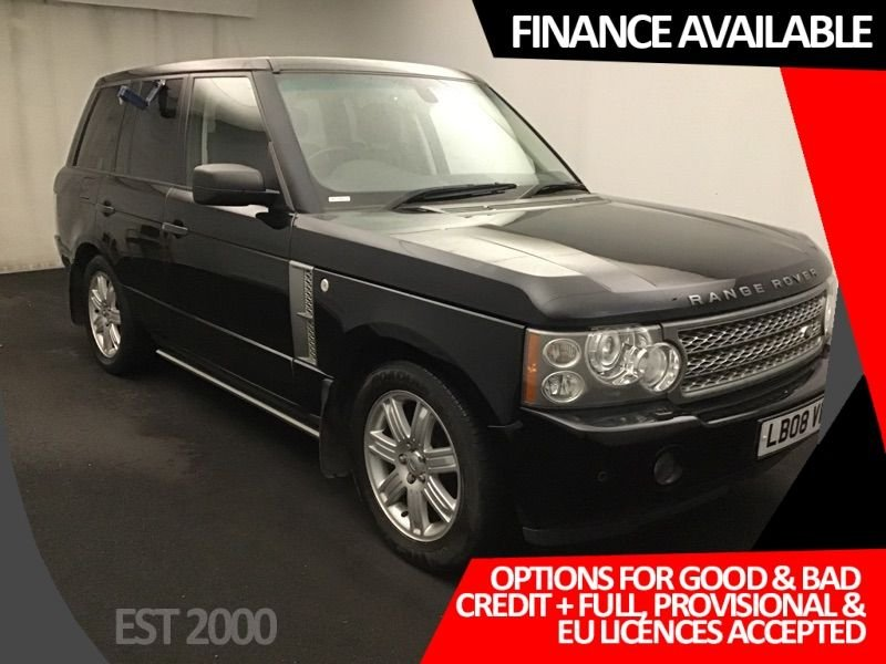 USED 2008 08 LAND ROVER RANGE ROVER 3.6 TDV8 VOGUE 5d 272 BHP * DAB * HARMAN KARDON * REVERSING CAMERA * SUNROOF * SAT NAV *