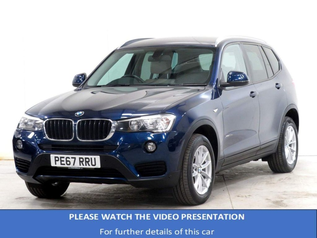 USED 2017 67 BMW X3 2.0 20d SE Auto xDrive 5dr VAT Q*HEATED SEATS*SUN PROTECT