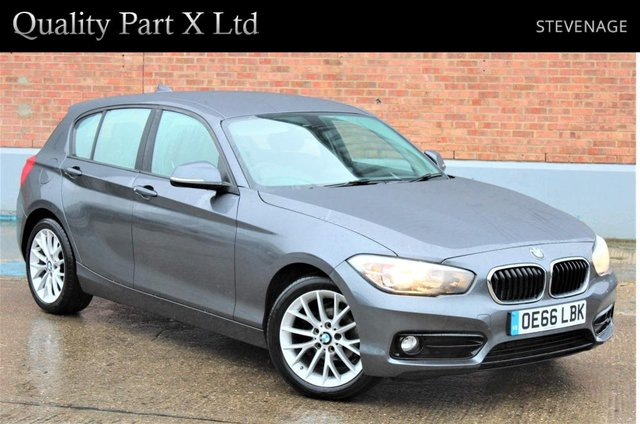 USED 2016 66 BMW 1 SERIES 1.5 116d Sport Auto (s/s) 5dr SATNAV, BLUETOOTH, ECO, SPORT