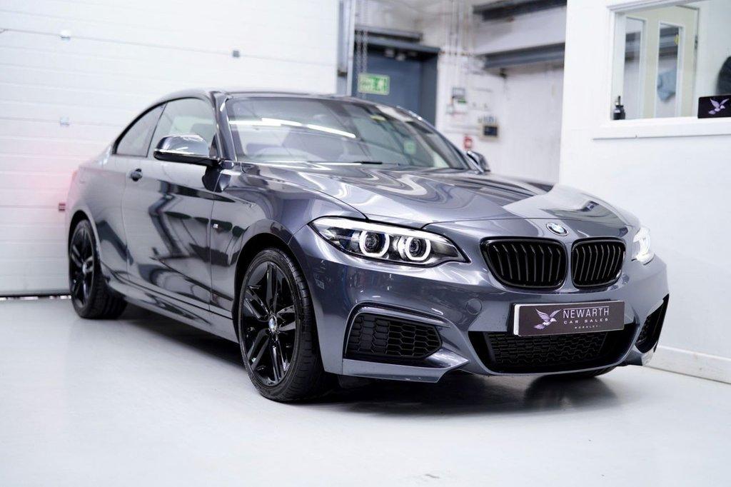 USED 2018 68 BMW 2 SERIES 1.5 218i M Sport (s/s) 2dr GREY | BLACK | BLACK