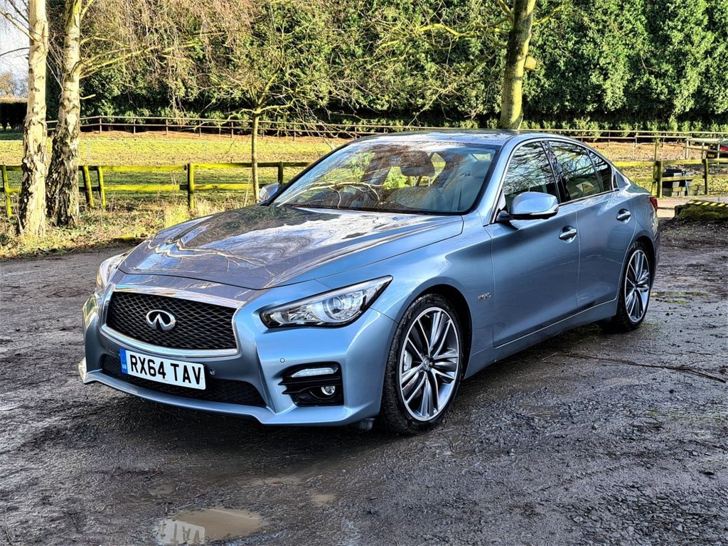 USED 2014 64 INFINITI Q50 3.5 S HYBRID 4d 359 BHP +++FULLY LOADED+++