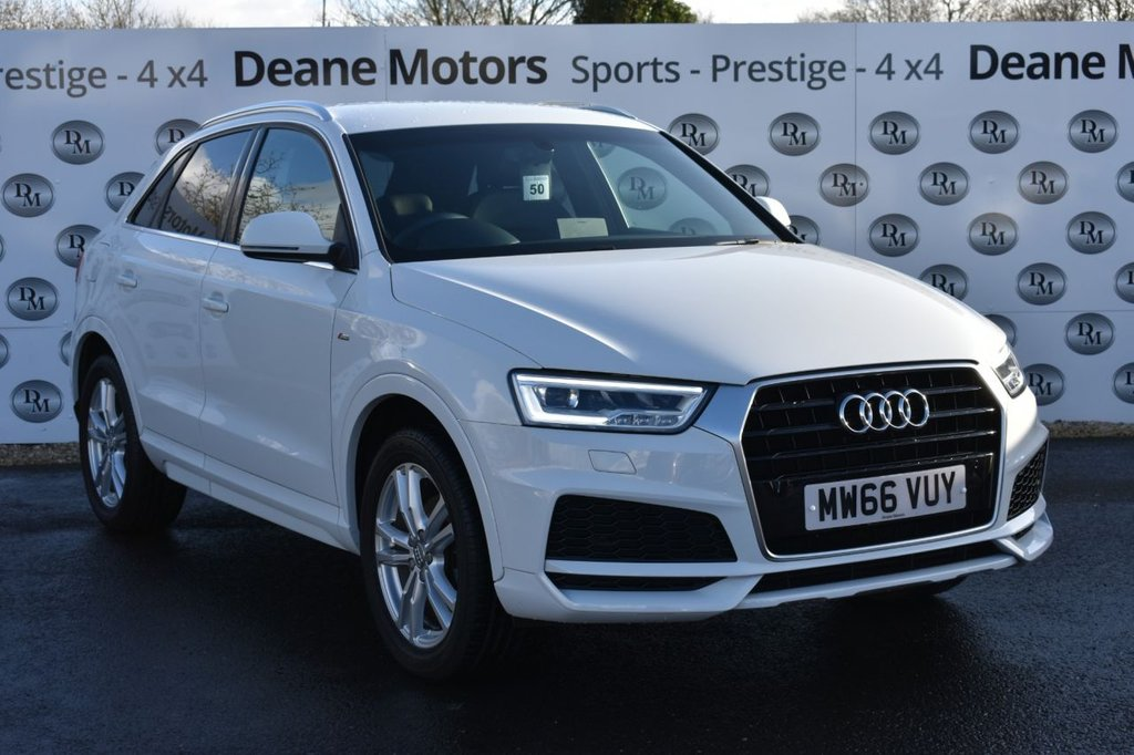 USED 2017 66 AUDI Q3 1.4 TFSI S LINE EDITION 5d 148 BHP GREAT SPECIFICATION