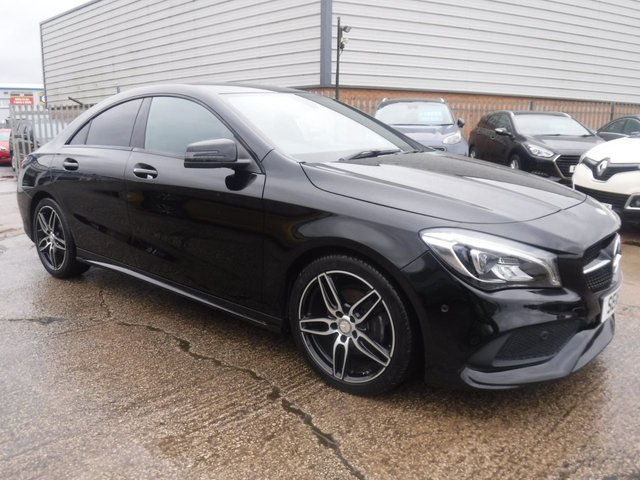 USED 2016 16 MERCEDES-BENZ CLA 1.6 CLA 180 AMG LINE 4d 121 BHP *** FINANCE & PART EXCHANGE WELCOME *** 1 OWNER SAT/NAV BLUETOOTH PHONE PARKING SENSORS AIR/CON CRUISE CONTROL PRIVACY GLASS