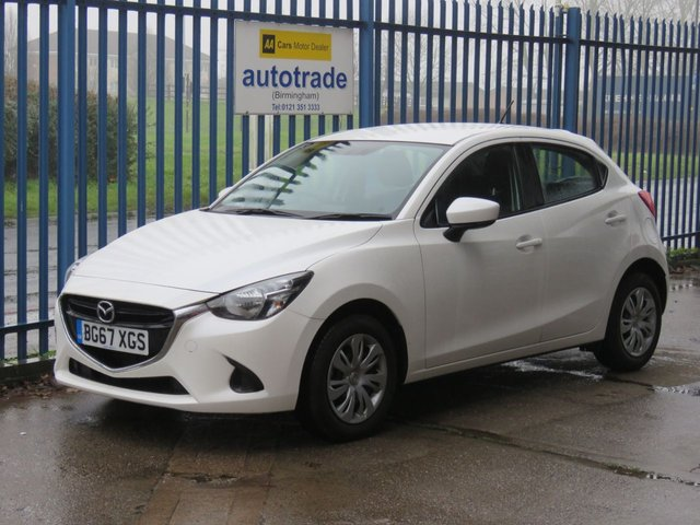 USED 2017 67 MAZDA 2 1.5 SE 5d 74 BHP Low Miles, Air Conditioning, Alloys, Service History
