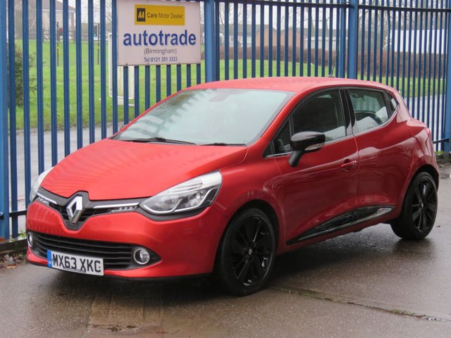 USED 2013 63 RENAULT CLIO 1.5 DYNAMIQUE S MEDIANAV ENERGY DCI S/S 5d 90 BHP £0 Road Tax,SatNav,Cruise Control,Service History