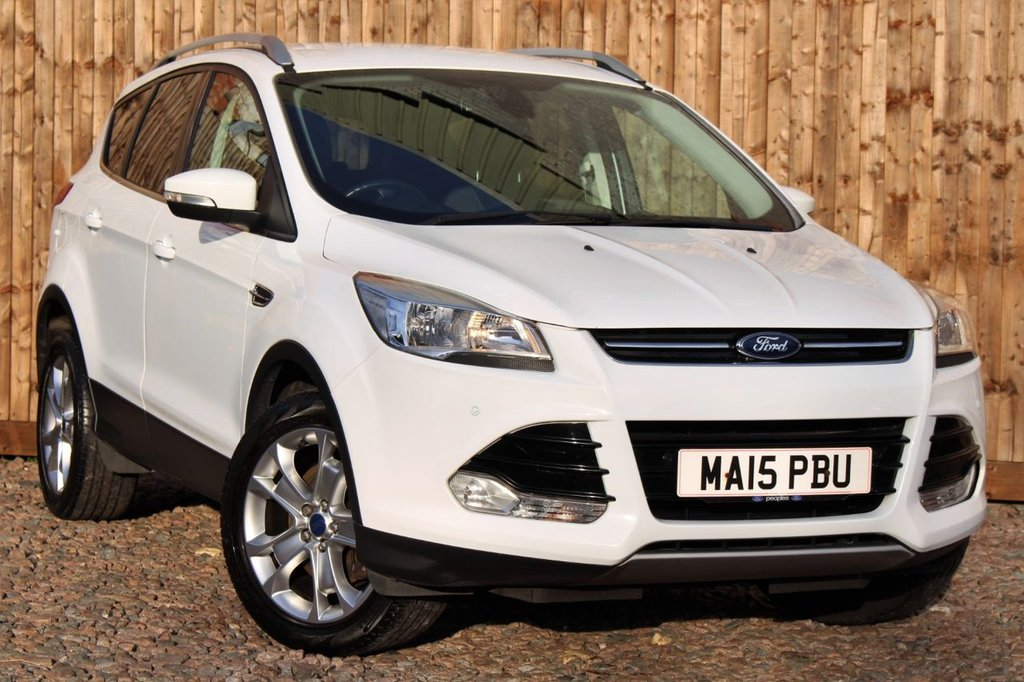 USED 2015 15 FORD KUGA 2.0 TDCi Titanium 5dr 1 YEAR WARRANTY + FULL SERVICE HISTORY + 12 MONTHS MOT