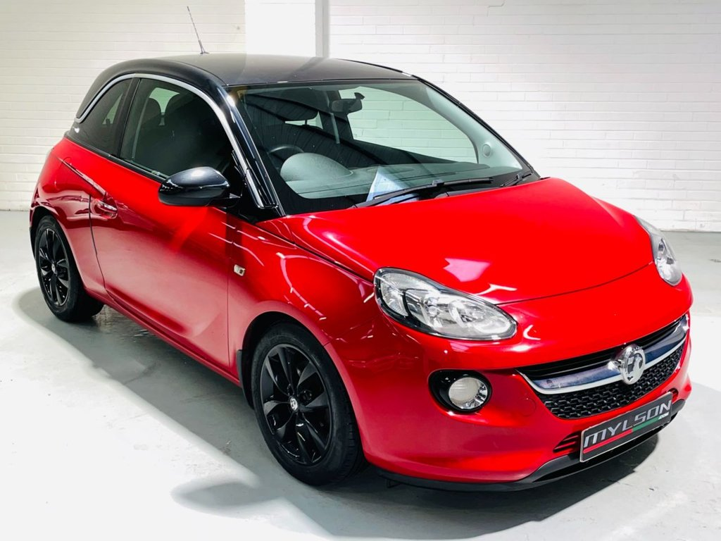 USED 2014 64 VAUXHALL ADAM 1.0 JAM 3d 113 BHP £30 Road Tax, Low Insurance, AA Inspection Passed