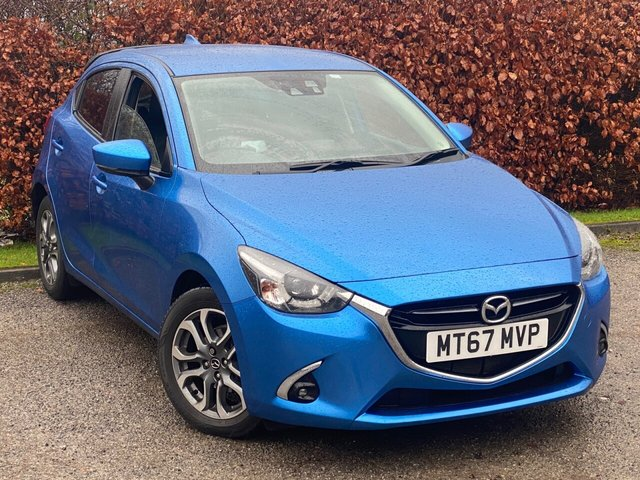 USED 2017 67 MAZDA 2 1.5 GT 5d 89 BHP * 5 SPEED * LOW MILEAGE CAR * 12 MONTHS FREE AA MEMBERSHIP *